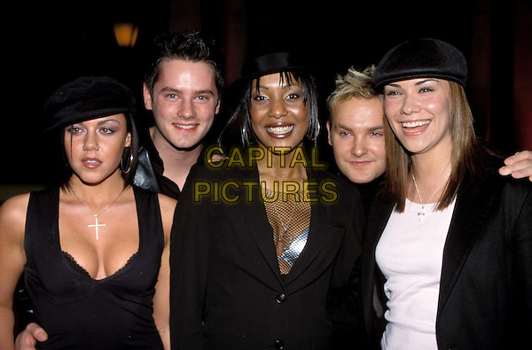 LIBERTY X..Ref:11555..pop band, music, group..www.capitalpictures.com..sales@capitalpictures.com..©Capital Pictures..half length, half-length