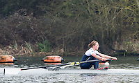 Caversham. Berkshire. UK<br /> Anastasia CHITTY. <br /> 2016 GBRowing U23 Trials at the GBRowing Training base near Reading, Berkshire.<br /> <br /> Monday  11/04/2016 <br /> <br /> [Mandatory Credit; Peter SPURRIER/Intersport-images]