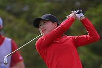 Jennifer Song (USA) watches her tee shot on 12 during round 1 of  the Volunteers of America LPGA Texas Classic, at the Old American Golf Club in The Colony, Texas, USA. 5/4/2018.<br /> Picture: Golffile | Ken Murray<br /> <br /> <br /> All photo usage must carry mandatory copyright credit (&copy; Golffile | Ken Murray)