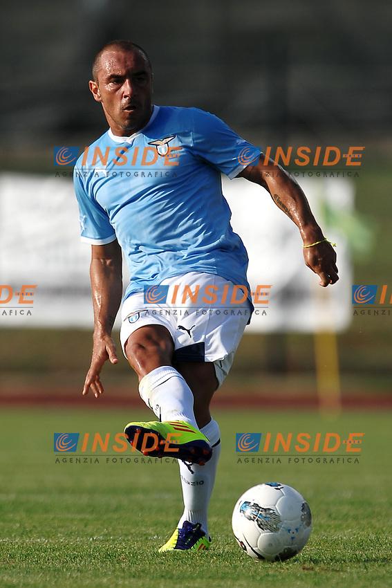 Cristian BROCCHI Lazio.Fiuggi 5/8/2011 .Football / Calcio Friendly Match.Lazio Vs Cluj.Foto Insidefoto Andrea Staccioli