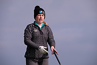 Mary Doyle (MU) during the final of the Irish Students Amateur Open Championship, Tralee Golf Club, Tralee, Co Kerry, Ireland. 12/04/2018.<br /> Picture: Golffile | Fran Caffrey<br /> <br /> <br /> All photo usage must carry mandatory copyright credit (&copy; Golffile | Fran Caffrey)