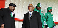 U17 : Belgian Red Flames - Nigeria <br /> <br /> Hoog bezoek van de Nigeriaanse ambassadeur in Belgi&euml;<br /> <br /> foto Dirk Vuylsteke / Nikonpro.be