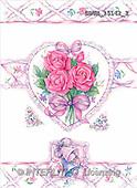 Stephen, WEDDING, paintings, roses, bells(GBUK15142/2,#W#)