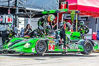 Driver change, #2 HPD ARX-04b 01/Honda ,  Johannes van Overbeek, Jon Fogarty, Ed Brown  12 Hours of Sebring, Sebring International Raceway, Sebring, FL, March 2015.  (Photo by Brian Cleary/ www.bcpix.com )