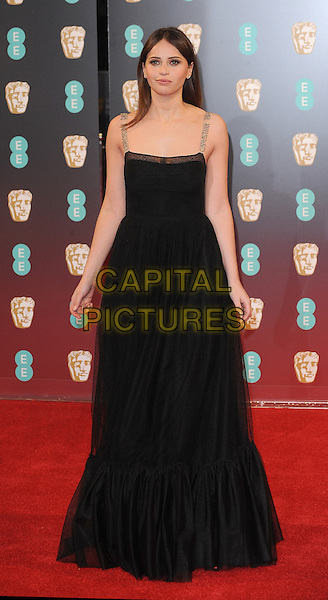 LONDON, ENGLAND - FEBRUARY 12: Felicity Jones attends the 70th EE British Academy Film Awards (BAFTA) at Royal Albert Hall on February 12, 2017 in London, England.<br /> CAP/BEL<br /> &copy;BEL/Capital Pictures