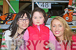 Karen Boyle, Alice Boyle-O'Sullivan and Norma Jean Leane Killarney at the Business Expo in Killarney Outlet Centre on Saturday