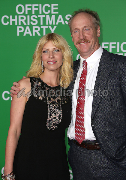 """07 December 2016 - Westwood, California - Matt Walsh, Morgan Walsh.  """"Office Christmas Party"""" Paramount Pictures Los Angeles Premiere held at Regency Village Theatre. Photo Credit: F. Sadou/AdMedia"""