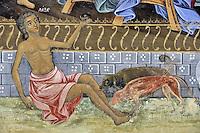 BG41204.JPG BULGARIA, RILA MONASTERY, CHURCH OF NATIVITY, frescoes