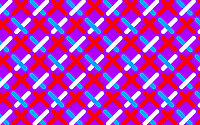 Abstract pattern of crisscrossing dotted lines