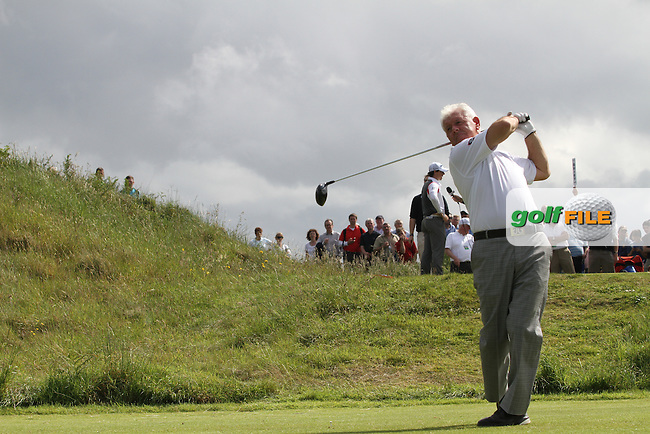 Gerry McIlroy (Rory McIlroy's father) during the Pro Am of the 2012 Irish Open at Royal Portrush Golf Club, Portrush...(Photo Jenny Matthews/www.golffile.ie)