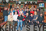 BIRTHDAY BOY: John Savage (He did it his way), O'Rahillys Villas (seated centre) enjoying a great time celebrating his 37th birthday with a large group of family and friends at the Huddle bar on Thursday.