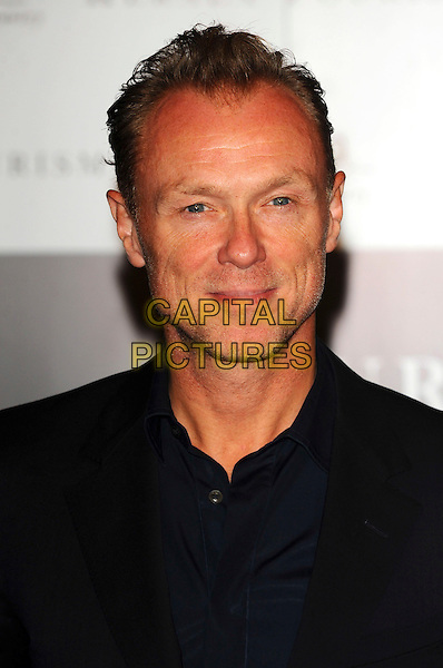 GARY KEMP .Attending Your Moment Is Waiting - launch party at Saatchi Gallery, London, England. September 21st 2010 .portrait headshot black shirt .CAP/CJ.©Chris Joseph/Capital Pictures.