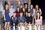 Enjoying the Rathmore Social action 40th anniversary social in the Gleneagle hotel were Michael Twomey, Sean Sheehan, Danny Dennehy, Michelle Brosnan. Maire Amy O'connor, Liam O'Riordan, Michelle O'Sullivan, Kathy Murphy, Chloe Fitzgearld, Rachel McGillicuddy, Niamh Cronin, and Ciara Brosnan