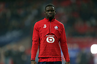 Adama Soumaoro of Lille OSC before Lille OSC vs Chelsea, UEFA Champions League Football at Stade Pierre-Mauroy on 2nd October 2019