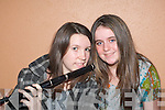 SWEET MUSIC: Saoirse O'Connor (right) accompanied by Rachel Hanrahan on flute at the Youth Work Ireland Munster finals Variety Show in the Aras Padraig Killarney on Saturday.   Copyright Kerry's Eye 2008