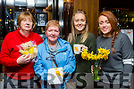 Betty O'Sullivan, Breda Moriarty, Catriona and Chloe O'Doherty enjoying the Irish Cancer society daffodil day coffee morning in the Killarney Plaza Hotel on Friday morning