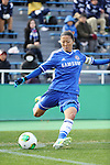 Yuki Ogimi (Chelsea),<br /> DECEMBER 8, 2013 - Football / Soccer :<br /> mobcast cup International Women's Club Championship 2013 Final match between INAC Kobe Leonessa 4-2 Chelsea Ladies FC at Ajinomoto Field Nishigaoka in Tokyo, Japan. (Photo by Hitoshi Mochizuki/AFLO)