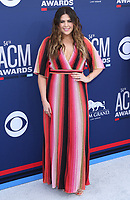 07 April 2019 - Las Vegas, NV - Hilary Scott. 54th Annual ACM Awards Arrivals at MGM Grand Garden Arena. Photo Credit: MJT/AdMedia<br /> CAP/ADM/MJT<br /> &copy; MJT/ADM/Capital Pictures