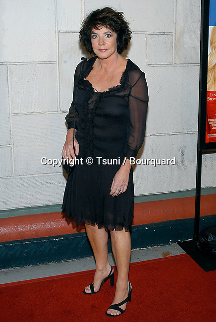 "Stockard Channing arriving at the "" Le Divorce Premiere "" at the Festival Theatre in Los Angeles. July 29, 2003."