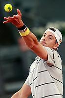 John Isner, USA, during Madrid Open Tennis 2018 match. May 11, 2018.(ALTERPHOTOS/Acero) /NORTEPHOTOMEXICO
