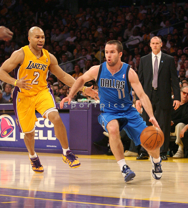 JOSE BAREA, of the Dallas Mavericks in action during the Mavericks game against the LA Lakers, on March 31, 2011 in Los Angeles, California. The Lakers beat the Mavericks 110-82.