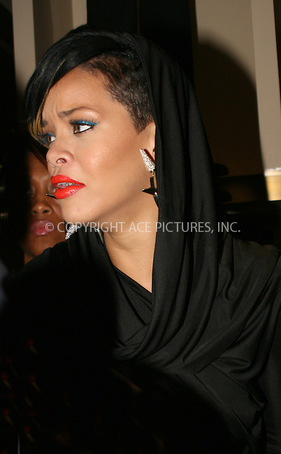 WWW.ACEPIXS.COM . . . . .  ....September 10 2009, New York City....Singer Rihanna at the World of Giuseppe Zanotti during Fashion's Night Out at the Giuseppe Zanotti Boutique on September 10, 2009 in New York City....Please byline: NANCY RIVERA- ACE PICTURES.... *** ***..Ace Pictures, Inc:  ..tel: (212) 243 8787 or (646) 769 0430..e-mail: info@acepixs.com..web: http://www.acepixs.com