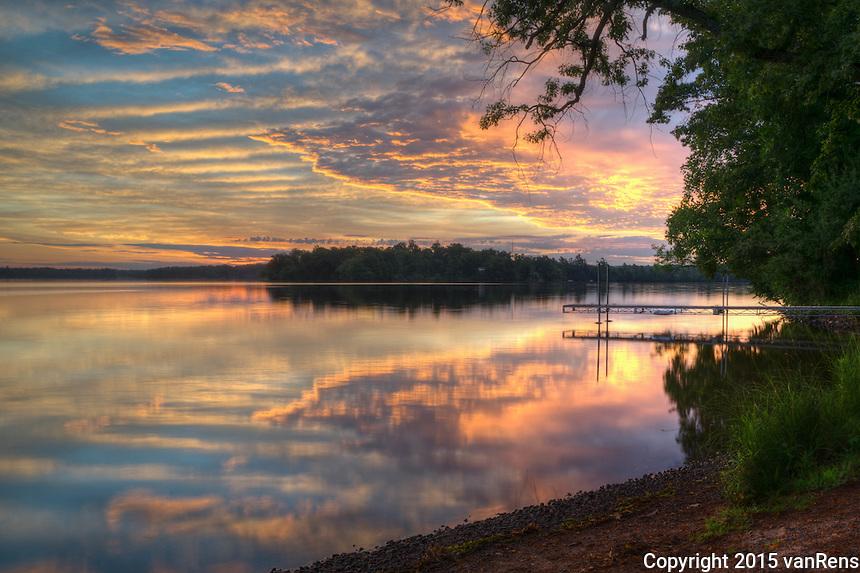 Summer Morning at Red Cedar Lake, WI