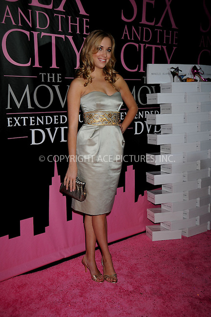 WWW.ACEPIXS.COM . . . . .....September 18, 2008. New York City.....Actress Andrea Bowen attends the 'Sex and the City' DVD Launch Party held at the New York Public Library on September 19, 2008 in New York City...  ....Please byline: Kristin Callahan - ACEPIXS.COM..... *** ***..Ace Pictures, Inc:  ..Philip Vaughan (646) 769 0430..e-mail: info@acepixs.com..web: http://www.acepixs.com