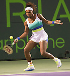 Serena Williams (USA) Defeats Agnieska Radwanska (POL) 6-0, 6-3