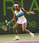 Serena Williams (USA) Defeats Agnieska Radwanska (POL) 6-0, 6-3