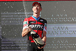 Rohan Dennis (AUS) BMC Racing Team wins Stage 16 of the La Vuelta 2018, an individual time trial running 32km from Santillana del Mar to Torrelavega, Spain. 11th September 2018.                    <br /> Picture: Unipublic/Photogomezsport | Cyclefile<br /> <br /> <br /> All photos usage must carry mandatory copyright credit (&copy; Cyclefile | Unipublic/Photogomezsport)