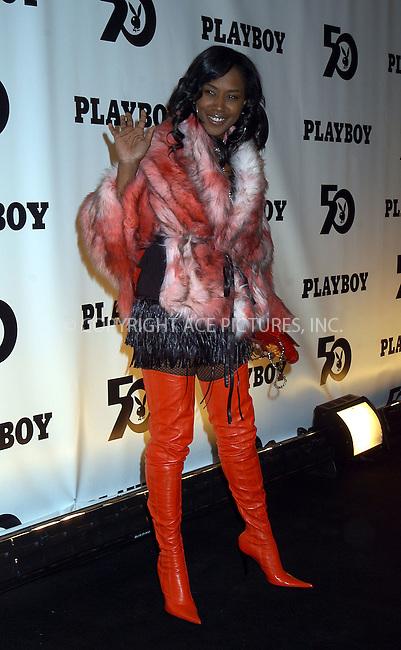 TWEET at the celebration of the 50th Anniversary of Playboy Magazine. New York, November 5, 2003. Please byline: AJ SOKLANER/NY Photo Press.   ..*PAY-PER-USE*      ....NY Photo Press:  ..phone (646) 267-6913;   ..e-mail: info@nyphotopress.com