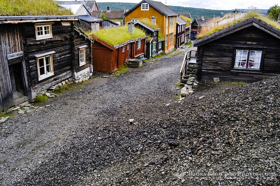 Norway, Røros. The mining town of Røros, also called Bergstaden.