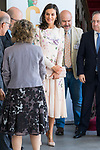 Queen Letizia of Spain arrives to  the institutional act of the World Day of Mental Health 2019 in Madrid. October 09, 2019. (ALTERPHOTOS/ Francis Gonzalez)