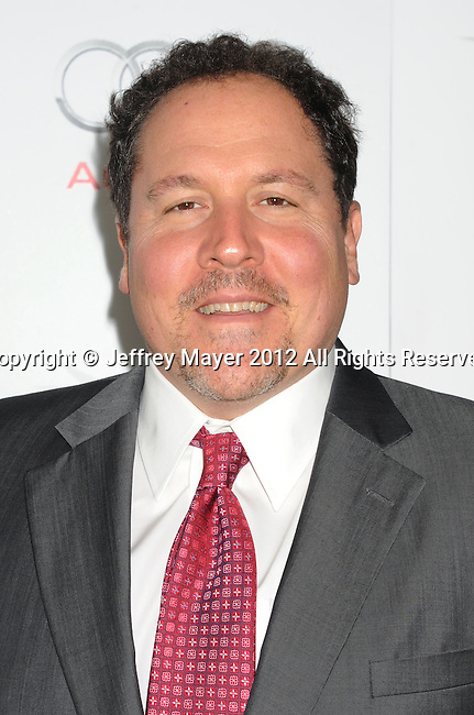 HOLLYWOOD, CA - NOVEMBER 08: Jon Favreau arrives at the 'Lincoln' premiere during the 2012 AFI FEST at Grauman's Chinese Theatre on November 8, 2012 in Hollywood, California.