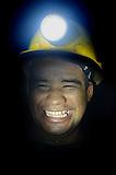 Minero de la cooperativa Minera Sur, Segovia, Colombia.
