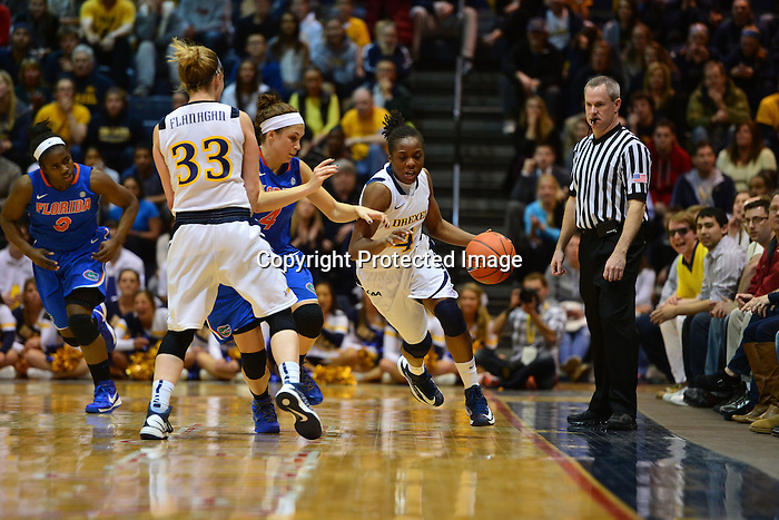 PHILADELPHIA - In the first 30 years and 123 days of Drexel women's basketball at the Division I level, the Dragons had never beaten a team from the Southeastern Conference. Over the next four days, Drexel would beat SEC teams twice. Days after winning at Auburn to earn a spot in the WNIT semifinals, the Drexel women's basketball team hosted Florida on Wednesday night and lead nearly the entire way as they beat the Gators and advanced to the 2013 WNIT championship game, 67-57. Hollie Mershon had 28 points and 10 assists, the latter a career high, to lead the Dragons.<br /> <br /> Drexel (27-10) led for the final 35:40 of play in defeating Florida (22-15), which had won its first four WNIT contests on the road. Fiona Flanagan got off to a hot start with five quick points, including a three-pointer which gave Drexel a 9-6 lead it would not relinquish, and finished with 11 points. Taylor Wootton dropped in 16 points, her ninth-straight game scoring in double figures.<br /> <br /> Sydney Rice led Florida with 20 points, 16 of which came in the first half. She also had a double-double, pulling down 10 of the Gators' 26 rebounds. Drexel outrebounded Florida 33-26 on the evening.<br /> <br /> Throughout the Dragons' run in the WNIT, Drexel has utilized its strong defense and timely shooting, putting teams away with extended scoring runs. The Dragons got another early run on Wednesday night. After trailing 6-4 with 16:44 remaining in hte first half, Flanagan scored the next five points for Drexel, keying an 11-0 run that extended over the next 3:49 of play. After Jennifer George knocked down a short jumper to get Florida back on the board, Flanagan answered with a three-pointer to push Drexel's advantage to 18-8, the first double-digit lead of the night for the Dragons.<br /> <br /> Playing in front of a raucous crowd of 1,412, the Dragons led by as many as 11 in the first half.<br /> <br /> The win puts Drexel into the WNIT championship game, where they will host the Utes of Utah.