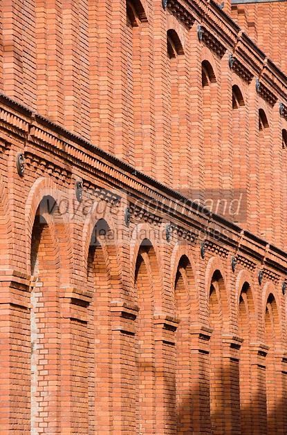 Europe/Pologne/Lodz: le Complexe Manufaktura dans l'ancienne fabrique de textile de Poznanski