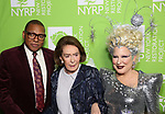 "Wynton Marsalis, Mica Ertegun and Bette Midler attends Bette Midler's New York Restoration Project hosts the 22nd Annual Hulaween Event ""Hulaween in the Cosmos"" at St. John the Divine on October 29, 2018 in New York City."