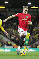 Scott McTominay of Manchester United during the Premier League match between Norwich City and Manchester United at Carrow Road on October 27th 2019 in Norwich, England. (Photo by Matt Bradshaw/phcimages.com)<br /> Foto PHC/Insidefoto <br /> ITALY ONLY