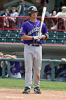 May 11, 2005:  Outfielder Jason Cooper of the Akron Aeros during a game at Jerry Uht Park in Erie, PA.  Akron is the Double-A Eastern League affiliate of the Cleveland Indians.  Photo By Mike Janes/Four Seam Images