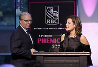 le chef du PQ Jean-Francois Lisee<br /> au Gala Phenicia 2018<br /> , le 31 mai 2018,a la Caisse de Depot et PLacements du Quebec.<br /> <br /> PHOTO : Agence Quebec Presse