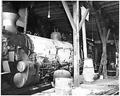 Close view of fireman side of D&amp;RGW #473 K-28 with boiler lagging.<br /> D&amp;RGW  Durango, CO  Taken by Payne, Andy M. - 4/3/1968