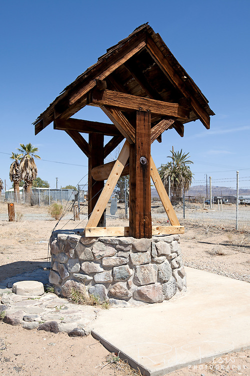 Water well installed by the Automobile Club of Southern California in Essex during Route 66's heyday to provide free water to travelers crossing the Mojave Desert.