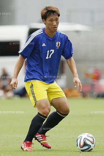 Shinnosuke Hatanaka,<br /> JULY 1, 2014 - Football / Soccer : <br /> Training match between U-19 Japan 1-2 Omiya Ardija<br /> at NACK5 Stadium Omiya, Saitama, Japan. <br /> (Photo by SHINGO ITO/AFLO SPORT)