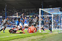 during Portsmouth vs Birmingham City, Caraboa Cup Football at Fratton Park on 6th August 2019