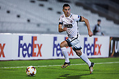 28th September 2017, Partizan Stadium, Belgrade, Serbia; UEFA Europa League group stage, Partizan versus Dynamo Kiev; Defender Nemanja Miletic of Partizan prepare to cross into the area