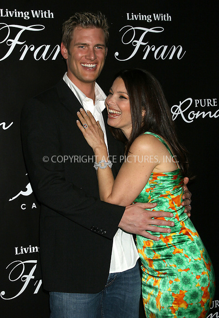 WWW.ACEPIXS.COM . . . . .  ....NEW YORK, APRIL 8, 2005....Fran Drescher and Ryan McPartlin at the 'Living with Fran' premiere held at the Cain Lounge.....Please byline: ACE005 - ACE PICTURES.   .. *** ***  ..Ace Pictures, Inc:  ..Craig Ashby (212) 243-8787..e-mail: picturedesk@acepixs.com..web: http://www.acepixs.com