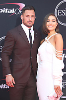 LOS ANGELES, CA - JULY 12: Danny Amendola and Olivia Culpo at The 25th ESPYS at the Microsoft Theatre in Los Angeles, California on July 12, 2017. Credit: Faye Sadou/MediaPunch