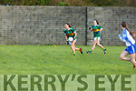 Kerrry's Ciara Murphy in possession against Waterford in the LGFA National football league in Strand Road on Saturday.